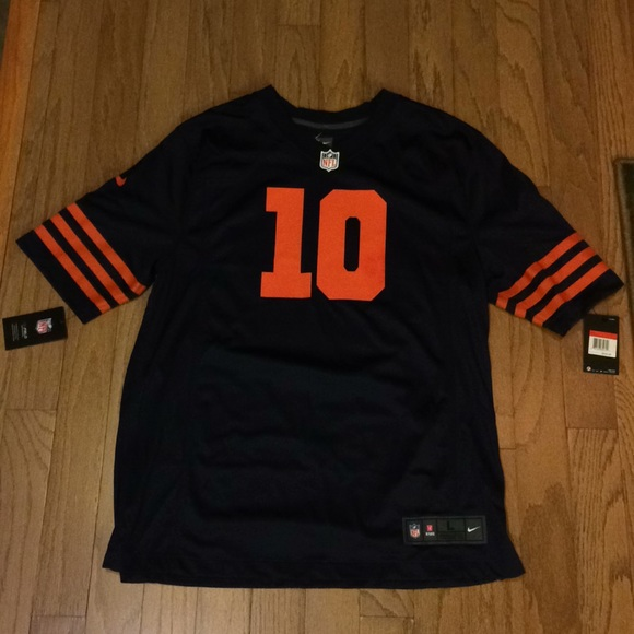 new style de859 43c09 Chicago Bears Mitchell Trubisky Nike Jersey NWT